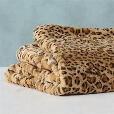leoparden decke decke mit leopard print 200x150cm 6485 decken t 252 cher