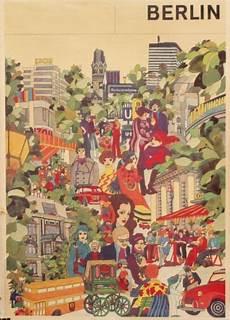 Vintage Berlin - berlin vintage travel poster circa 1970 vintage posters