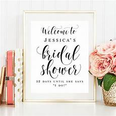 welcome bridal shower sign editable template welcome sign bridal shower decorations rustic sign