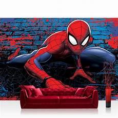 spiderman tapete fototapete 254x184cm premium wand foto tapete wand bild