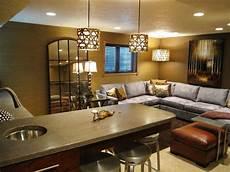 basement design ideas hgtv