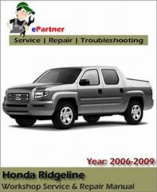auto repair manual online 2011 honda ridgeline engine control honda ridgeline service repair manual 2006 2009 automotive service repair manual