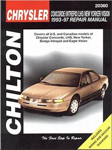free online auto service manuals 2002 dodge intrepid parking system 1993 1997 concorde lhs new yorker intrepid vision repair manual