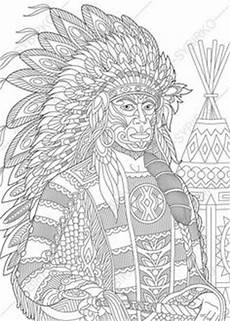 ausmalbilder indianer mandala mandala mandalas