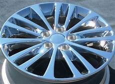 toyota avalon rims 4 new 17 quot factory toyota avalon hybrid es350 camry chrome