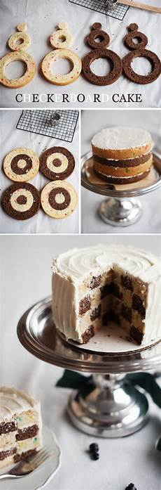 checkerboard birthday cake a subtle revelry