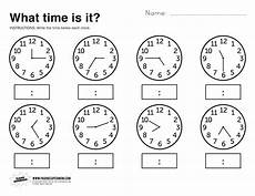 time worksheets for preschoolers 3595 what time is it printable worksheet with images time worksheets telling time worksheets