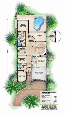 small mediterranean house plans mediterranean house plan waterfront golf course bungalow