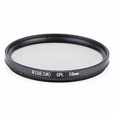58mm Circular Polarizing Filter With Lens by 58mm Circular Polarizing Cpl C Pl Filter Lens Protector