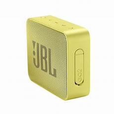 jbl go 2 waterproof portable bluetooth speaker yellow