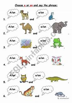 a an worksheet for little kids esl worksheet by wishmaster
