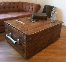 Large Reclaimed Wooden Storage Chest Ottoman Blanket Box