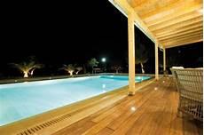 eclairage terrasse piscine eclairage piscine exterieur