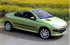 peugeot 206 coup 233 cabriolet review 2001 2007 parkers