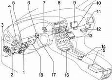 Lexus Gs 300 S140 1991 1997 Fuse Box Diagram Auto