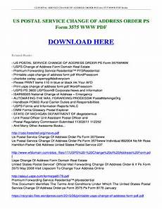 20 printable change of address usps forms and templates