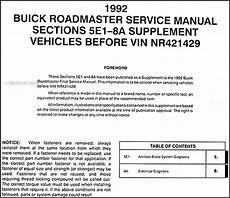 old car owners manuals 1992 buick coachbuilder electronic throttle control 1992 buick coachbuilder fuse manual 1992 buick riviera service repair manual ebay