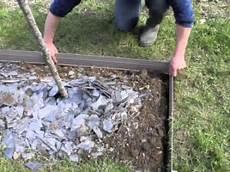 Bordalu 174 La Pose De Bordure Aluminium Pour Le Jardin