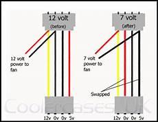 12v computer fan wire diagram 12v to 7v molex fan switch
