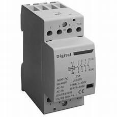 contacteur de puissance contacteur de puissance t 233 trapolaire 4 x 20a