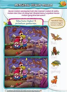 Buku Aktifitas Mencari Perbedaan Gambar Untuk Anak Tk Paud