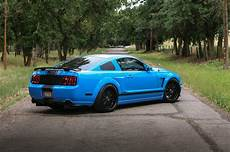 a grabber blue three valve 2005 ford mustang gt built for