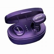 Gorsun Bluetooth Earphone Hifi Stereo Touch by Gorsun V8 Tws Bluetooth 5 0 Earphone Hifi Stereo Touch