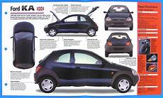 ford ka uk 1996 1998 spec sheet brochure poster imp