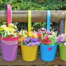 Flower Pot Hanging Balcony Garden Plant Planter Home