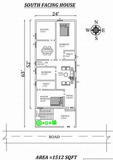 vastu for south facing house plans 24 x63 3bhk south facing house plan as per vastu shastra