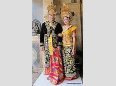 Keindahan Busana Pengantin Tradisional Bangsa Indonesia