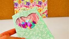 diy sch 252 ttelkarte mit konfetti geburtstagskarte mit