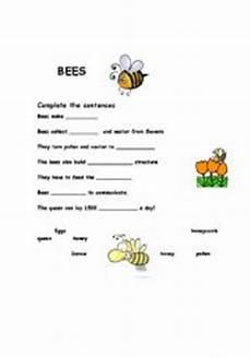 english teaching worksheets bees