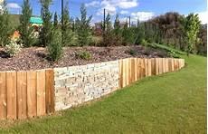 construire un mur de sout 232 nement en bois