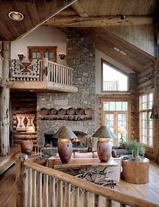 inneneinrichtung wohnzimmer holz wohnzimmer rustikal aus holz gemacht einrichtungsideen