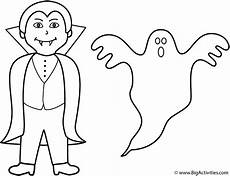 with ghost coloring page