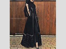 Latest Arabic Style Abaya Collection 2016 17   HijabiWorld