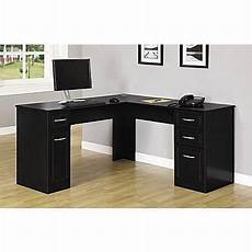 black home office furniture collections altra chadwick collection l desk nightingale black