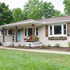 best exterior color 60s ranch house search