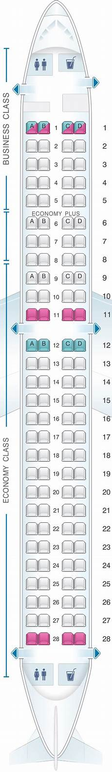Lot Airlines Seating Chart Seat Map Lot Polish Airlines Embraer 195 Seatmaestro