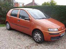 fiat punto 2002 fiat 2002 punto 1 2 active 5 door gold orange car for sale