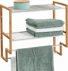möbel zeller zeller badregal m handtuchhalter bamboo metall otto