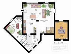 plan maison moderne étage plan de maison contemporaine en u np18 jornalagora