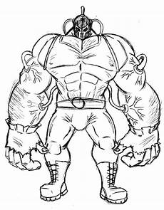 Bane Batman Coloring Pages Big Strong Arm Of Bane Batman Coloring Pages Best Place