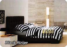 jual sprei fata signature uk 180 200 bantal 4 motif black stripe di lapak store dreams