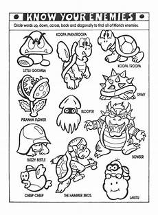 Malvorlagen Mario Maker Nintendo Power Colouring Pages Mario Coloring