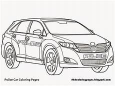 Ausmalbilder Polizeiauto Toyota Coloring Pages At Getcolorings Free Printable