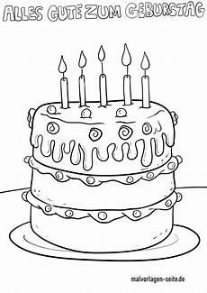 Ausmalbilder Geburtstag Torte Ausmalbild Torte Demalvorlagen Club