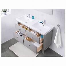 Ikea Waschtisch Hemnes - hemnes odensvik bathroom vanity gray ikea