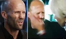 Furious 8 Helen Mirren Slap Jason Statham And Get